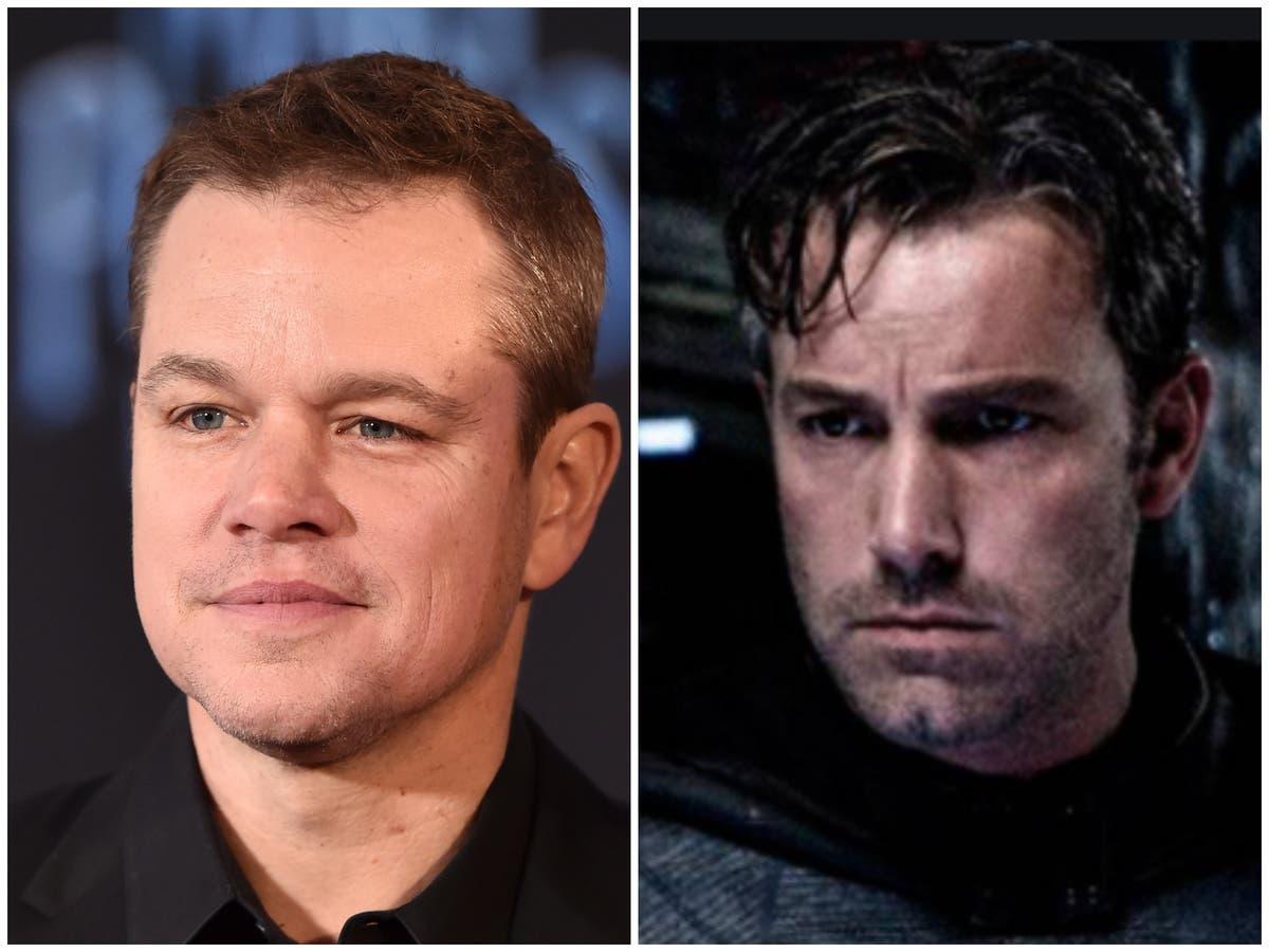 Ben Affleck and Matt Damon say Good Will Hunting put them off writing together