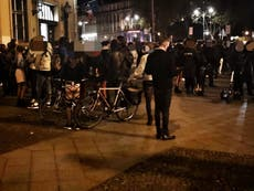 Police break up 600-strong 'fetish party' in Berlin for breaking coronavirus rules