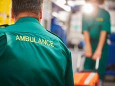 Paramedics left in tears from 'unsustainable demand', warns union