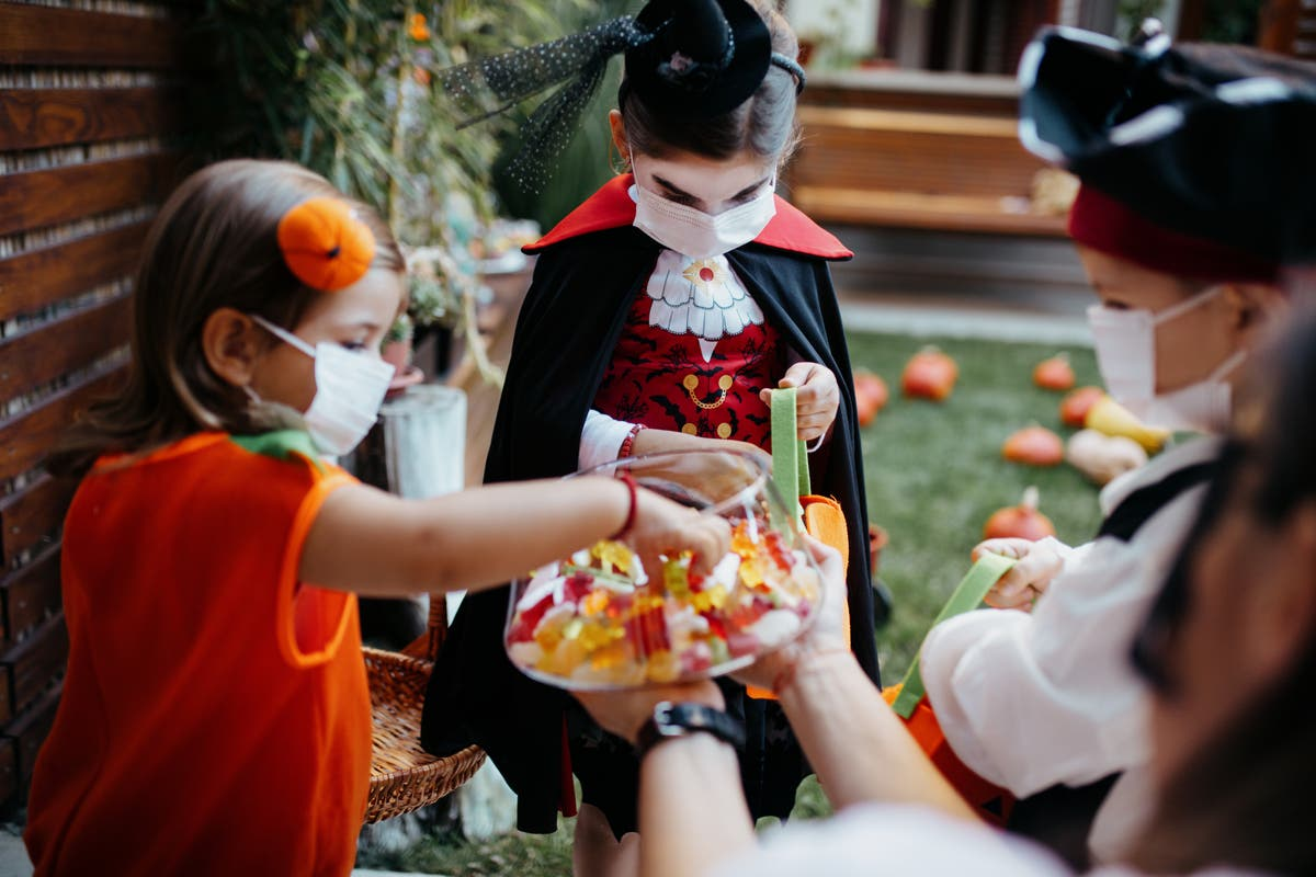 Dr Anthony Fauci tells families 'go out there and enjoy Halloween'