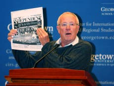 Robert Fisk: The outstanding and truth-telling journalist who ventured into danger