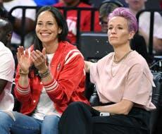Megan Rapinoe engaged to basketball star Sue Bird