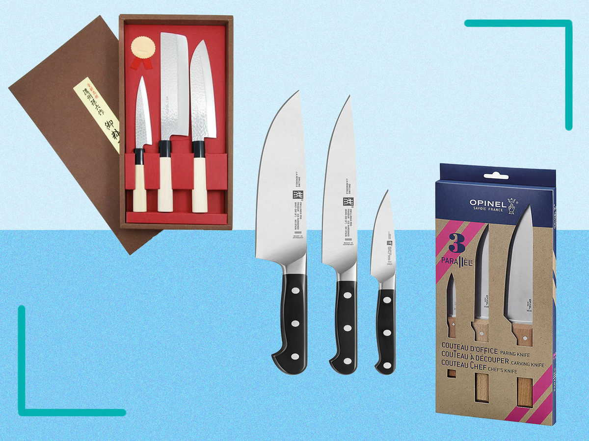 Whip up a storm in the kitchen with these tried and tested knife sets