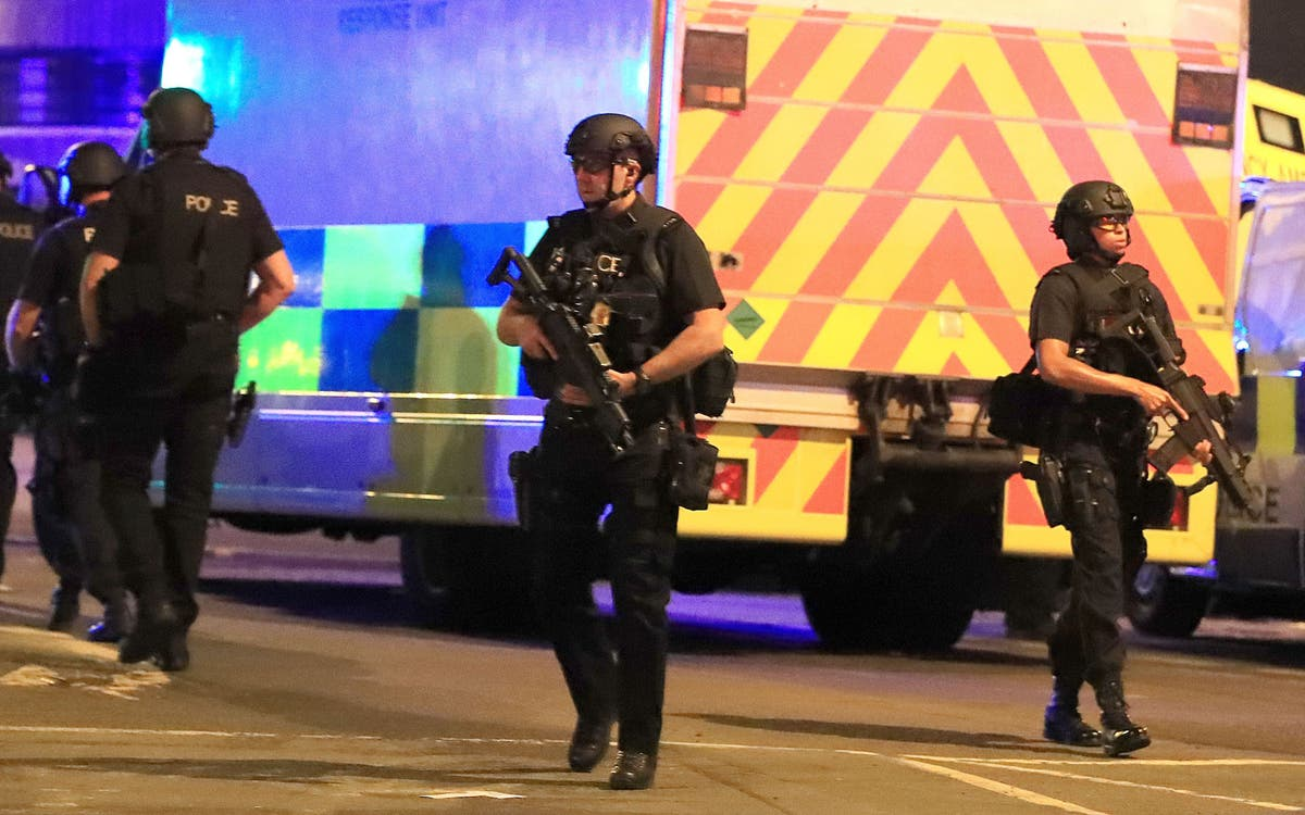 Manchester Arena attack police commander 'like rabbit in headlights,' inquiry told