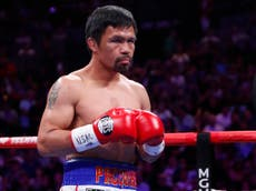 Manny Pacquiao hints at retirement after Yordenis Ugas fight following Errol Spence injury