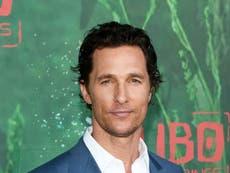 Matthew McConaughey insists masks do not take away 'identity and freedom'
