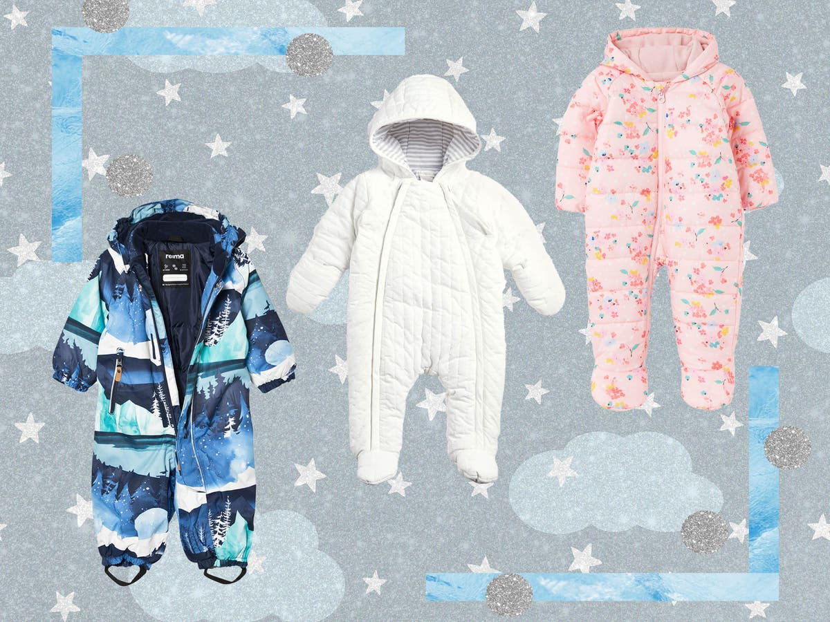 13 best baby snowsuits to keep your little one warm and snug