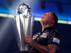 PDC World Darts Championship: Gerwyn Price staggers over the line to win final and world No. 1 spot