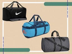 8 best men's weekend bags for overnight stays