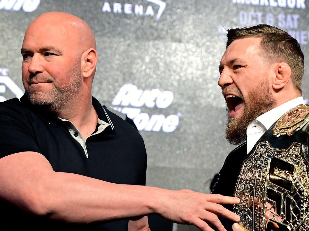Dana White offers update on Conor McGregor's UFC return
