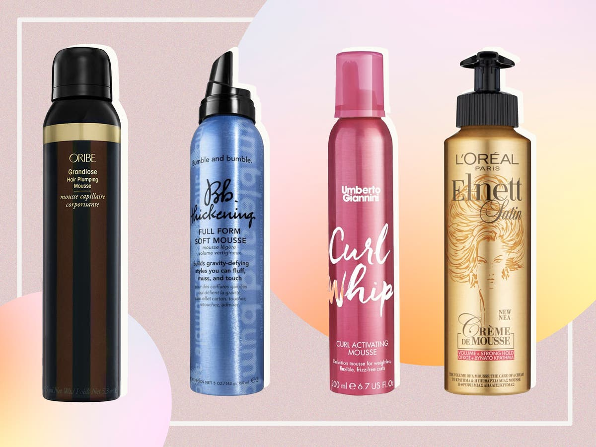 9 best hair mousse for defining curls, adding volume and taming frizz