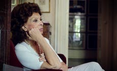 Sophia Loren: 'I've always tried to play women with a strong character'