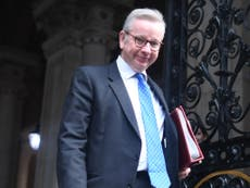 What does Gove's historical humour fail mean for him?