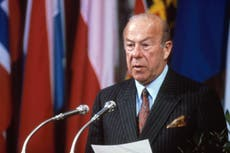 George Shultz: US secretary of state who helped to end the Cold War