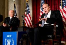 Biden pays a visit to ailing former GOP Sen. Bob Dole