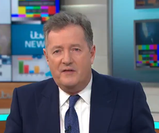 Piers Morgan shortlisted for National Television Award after GMB exit