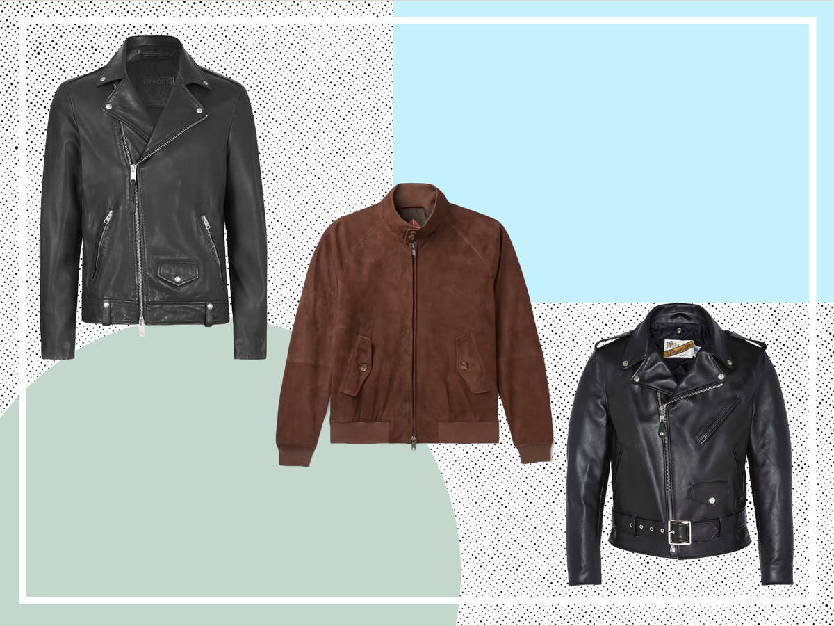 Channel your inner Brando with the best men's leather jackets