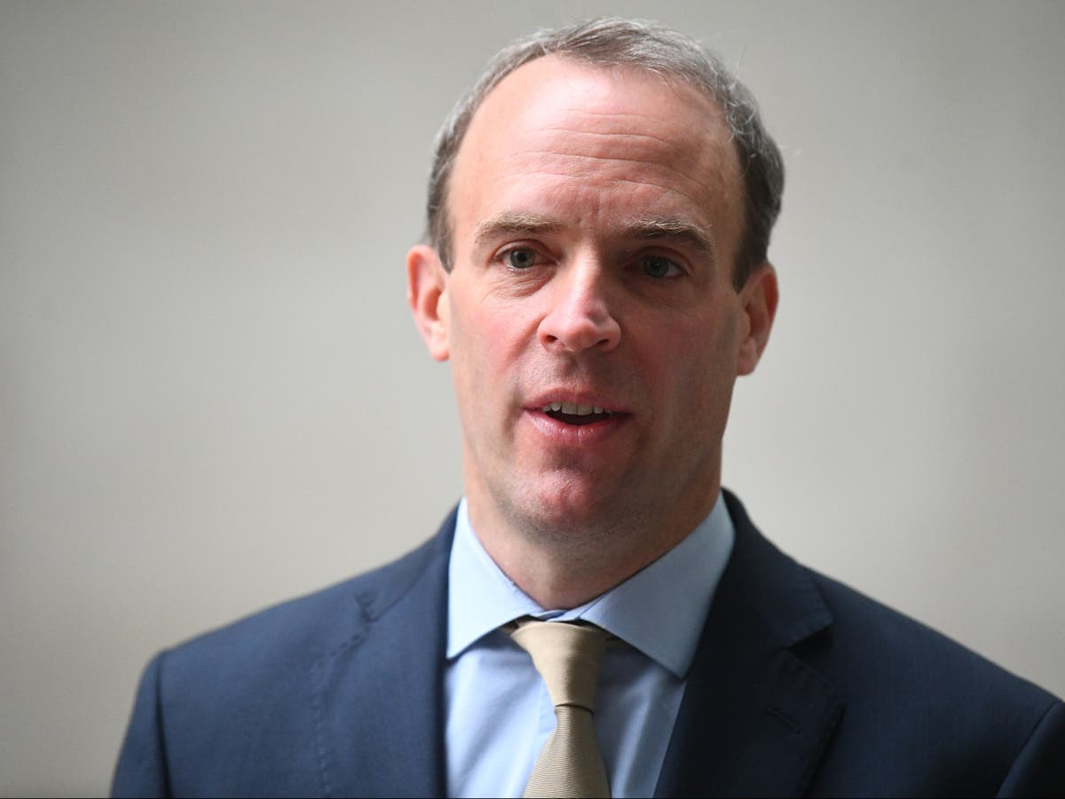 Dominic Raab says he is 'very unlikely' to attend Beijing Winter Olympics