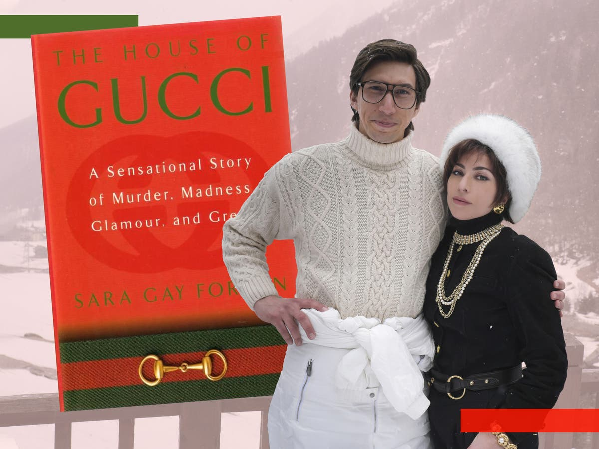 Lady Gaga and Adam Driver's 'House of Gucci' is based on this book