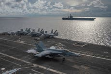 China lashes out as US and Canada send warships to Taiwan Strait