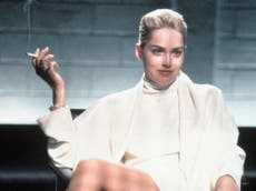 Sharon Stone says she made only 'a little bit of money' from her breakout role in Basic Instinct – Michael Douglas made $14m
