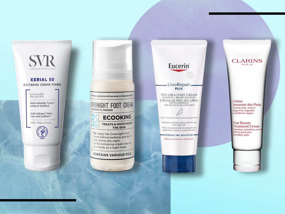 10 best foot creams for dry feet, hard skin and cracked heels