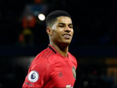 Marcus Rashford-backed charity delivers four meals every second in year of footballer's support