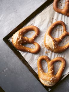 Take your sourdough game to the next level with this pretzel recipe