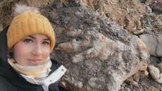 'Jurassic giant' dinosaur footprint found on Yorkshire coast