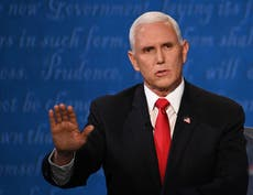 Mike Pence's publisher refuses to cancel memoir after accusations of 'perpetuating white supremacy'