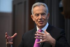 Labour Party needs 'total deconstruction and reconstruction' to revive, Tony Blair says