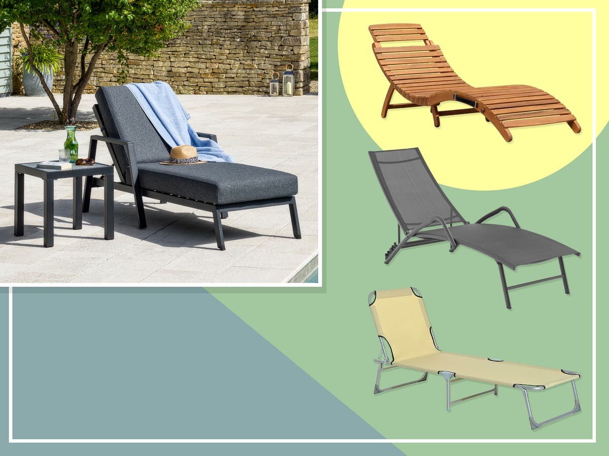7 best sun loungers to kick back and relax on this summer