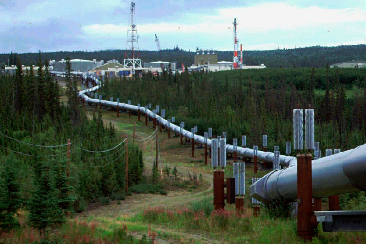 Alaska drilling project defended by Biden requires inserting giant chillers into melting permafrost