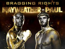 Floyd Mayweather vs Logan Paul live stream: How to watch as pair go face-to-face for the first time?