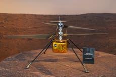 Nasa Ingenuity helicopter suffers major malfunction on Mars after 'phantom errors'