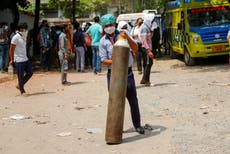 India Covid crisis: Foreign embassies turn to volunteer groups for help sourcing oxygen in Delhi