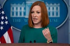 White House press secretary Jen Psaki plans to step down next year