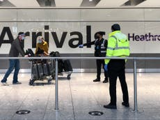 Coronavirus news - live: NHS app may not be ready to be 'vaccine passport' as green list expected Friday