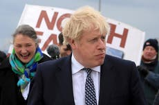Poll gives Boris Johnson's Conservatives 17-point lead in crucial Hartlepool by-election