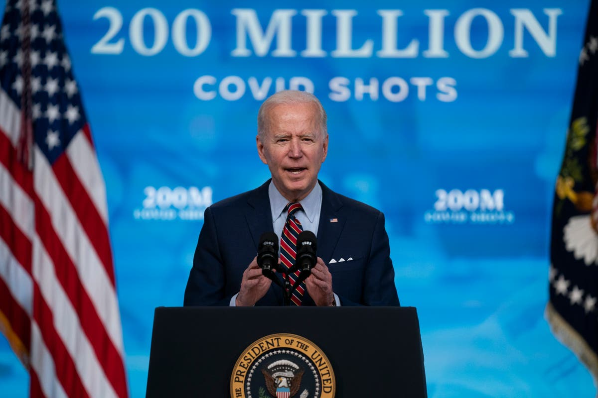 ALS sufferer posts video of Biden promising him he would share Covid vaccine as pressure grows for US to drop patents