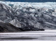 Microplastics particles discovered in Europe's largest ice cap