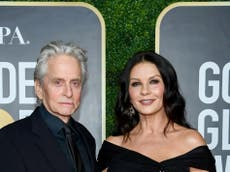 Michael Douglas says it was 'uncomfortable' for him and Catherine Zeta-Jones to share Mallorcan home with his ex
