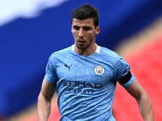 Ruben Dias: Jamie Carragher 'more impressed' with Man City defender than with Virgil van Dijk