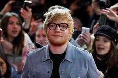 Ed Sheeran says he was 'third choice' for role in Yesterday after Harry Styles and Chris Martin turned it down