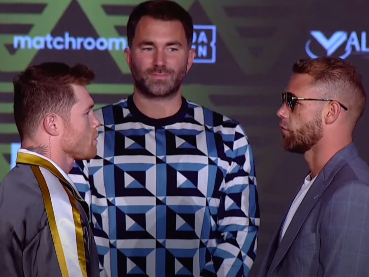 Billy Joe Saunders confident of beating Canelo 'as long as I get treated fairly'