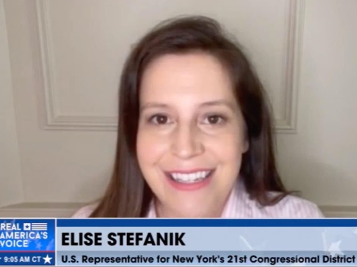 Elise Stefanik backs Arizona 'audit' and rails against Twitter on Steve Bannon's 'War Room' podcast