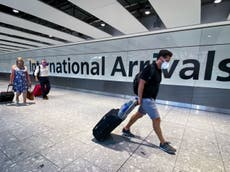 Travel news – live: 'Green list' of safe countries to be announced as foreign holiday rules ease