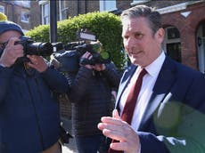 Local elections 2021 – live: Starmer urged to 'change direction' after Labour loses Hartlepool to Tories