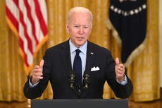 Biden claims April jobs report is 'rebuttal' to idea Americans don't want to work