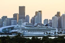 Cruise ship company may avoid Florida over state's refusal to allow Covid vaccination checks